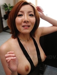 Yuna Hirose is a sweet office slut